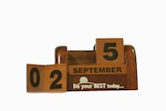 Desk Daily Calendar � Do your best today